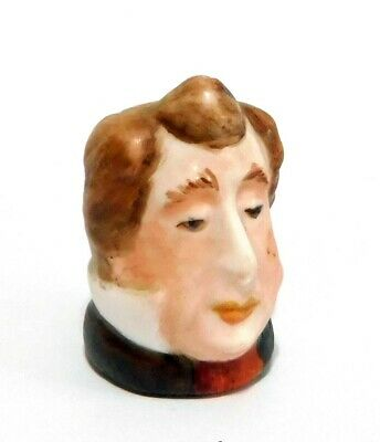 Handpainted Character Head Pecksniff Dickens Collection