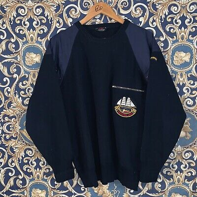 Rarissimo Maglione Felpa Paul And Shark Yachting Line Taglia Large Vintage Retro