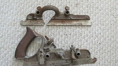 vintage STANLEY No. 45 Combination wood plane tool woodworking PARTS LOT