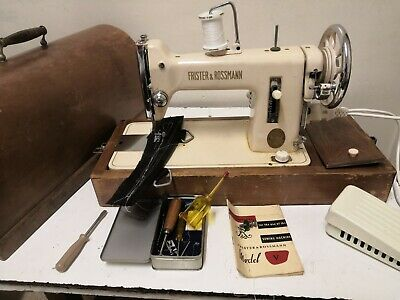Frister Rossmann Heavy Duty sl vintage Sewing - machine