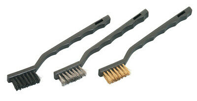 Wire Brush Set  Mini (3-Piece) Nylon , Brass , Stainless