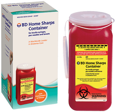 BD Home Sharps Container 1.4 Qt