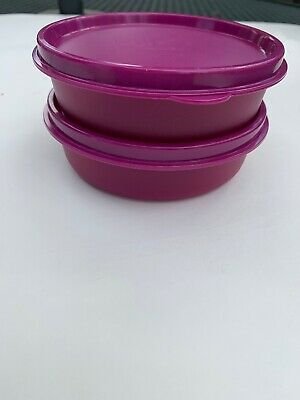 Tupperware Little Wonder Bowls 6 oz Set of 2 Vineyard