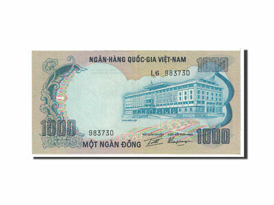 [#118068] Banknote, South Viet Nam, 1000 D<ox>ng, 1972, Undated, KM:34a, UNC(63)