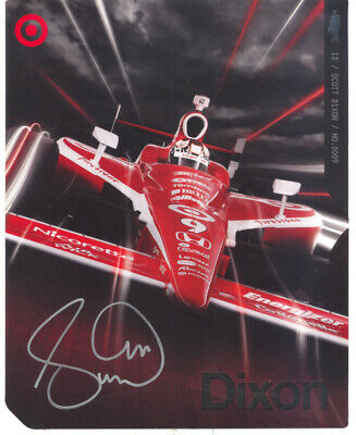 Scott Dixon 5-Time IndyCar Champion Indy 500 Winner Autographed 2010 Hero Card!