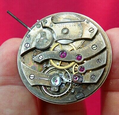 High Grade Extra Thin Stabilis Mvt Pocket Watch 38Mm 17J 4 Adjustments Staffbrk