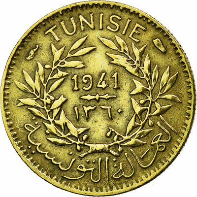 [#18309] Coin, Tunisia, Anonymous, 50 Centimes, 1941, Paris, EF(40-45)