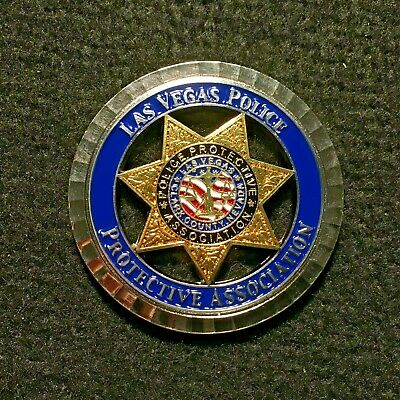 Nevada - LVMPD Las Vegas Police Department Protective Association Challenge Coin