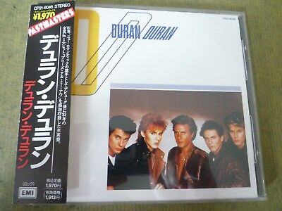 Duran Duran CD Pastmasters 日本版 Made in Japan CP21-6046 2A6 TO 3 yen1970
