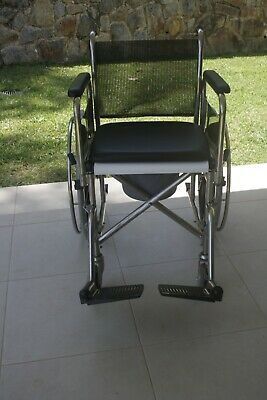 Shower Rite Toilet and Shower Self Propelled Chair