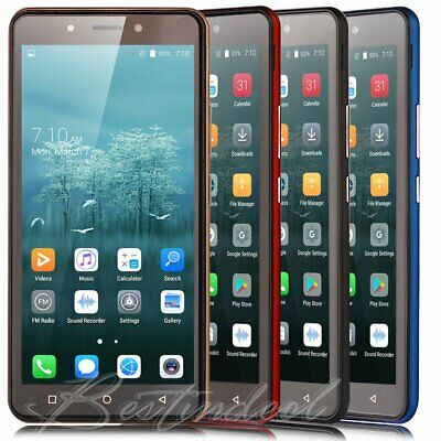 "5.5"" Large Screen Android 8.1 Cell Phones DuaL SIM Quad Core Cheap Smartphone 3G"