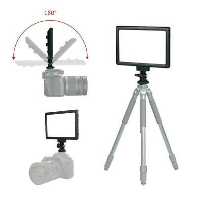 HD-25 Mini Dimmable Studio Video Photography LED Light Panel Lamp for DSLR Cam