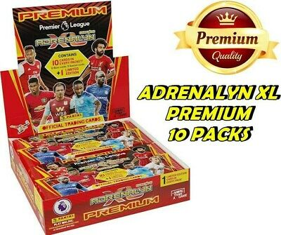 Premier League 2019/20 Adrenalyn XL Premium 10 Packs & Starter Pack