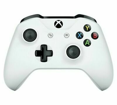 Microsoft Xbox One Wireless Controller White Official 3.5 HEADPHONE PORT FAULTY