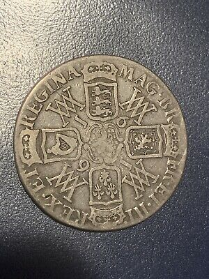 1691 Crown . William And Mary England