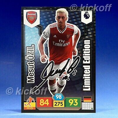 Panini Adrenalyn XL 2019-2020: Ozil - SIGNED Limited Edition. Arsenal. FREE post