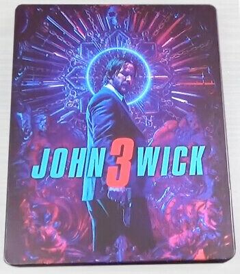 John Wick 3 Parabellum Limited Bluray Steelbook