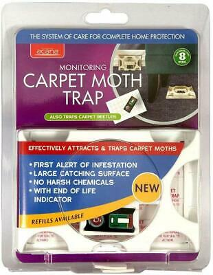 Acana Carpet Moth Trap - PACK OF 1/2/3 - FREE FAST POST