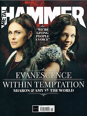 METAL HAMMER #328 November 2019 WITHIN TEMPTATION Evanescence BABYMETAL +Extras