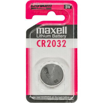 CR2032 3V 220Mah Lithium Button Cell Dioxide Battery Maxell
