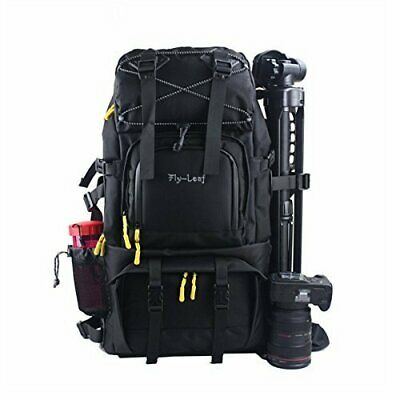 G-raphy Large Professional DSLR Camera & Laptop Travel Backpack Gadget Bag/Rain