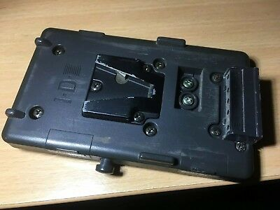 IDX V-Lok Battery Plate With JVC Plug