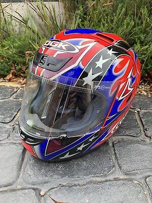 House Clearance Motorcycle Motorbike OGK Helmet Size L Large Derby