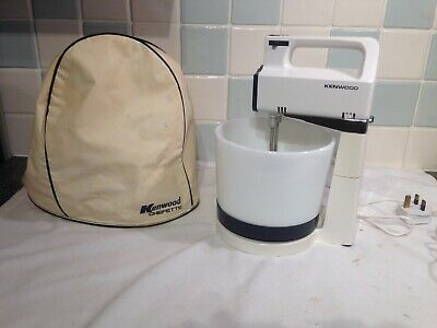 Vintage Kenwood chefette  A340 with  ceramic bowl and mixers