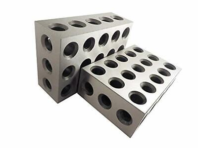 2-4-6 Blocks Matched Pair (2 Each), Hardened Steel RC 55-62, 23 Holes