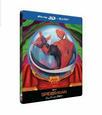 Spider-Man : Far From Home Steelbook -  Edition Spéciale Fnac Blu-ray 3D