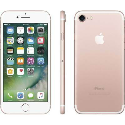 Apple iPhone 7 32GB Rose Gold AT&T Bad IMEI A1778 Cracked Home Button EZ01DF03