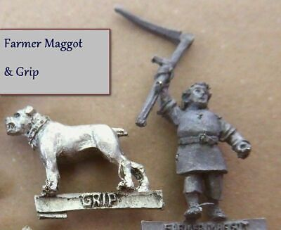 Warhammer Farmer Maggot /& Hounds the Lord of the Rings metal new