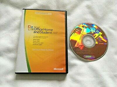 PC Microsoft Office Home and Student 2007