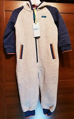 Ted Baker Boys Grey All In One Age 2-3 Years New.
