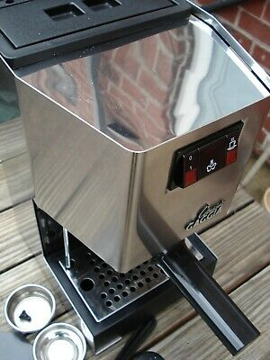 Gaggia Classic espresso machine older model with OPV and solenoid valve