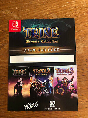 TRINE 1+2+3 - ULTIMATE COLLECTION - Code Téléchargement Nintendo SWITCH