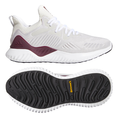 adidas RARE Men's Alphabounce Beyond NCAA Running Shoes White Size 8.5 F36822