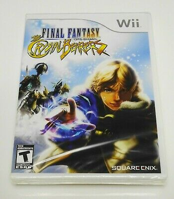 🗡️ FINAL FANTASY CRYSTAL CHRONICLES The Crystal Bearers (Nintendo Wii) NEW RARE