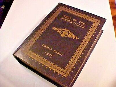 """Thomas Hardy 1895 ~ """"Wooden Box Storage Case"""" For Books Or Other"""
