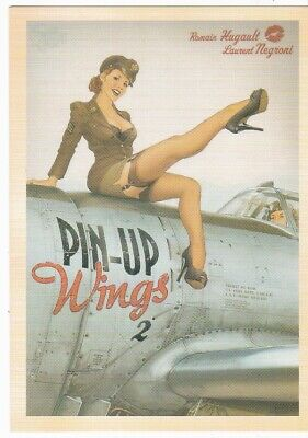 World War Ii Postcard Reprint Pin-Up Wings 2