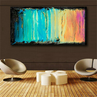 Home Decor Canvas Wall Colorful Abstract Oil Painting Canvas Print Wall Pictures