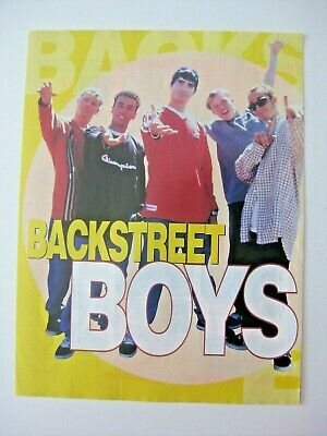 Backstreet Boys small poster 1998.