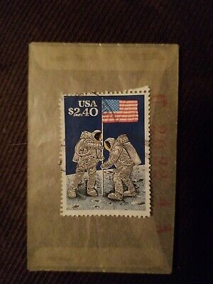 1989 $2.40 Moon Landing US Postage Stamps