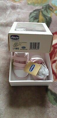 Chicco Baby Girl Shoes Size 18/UK2 RRP £26