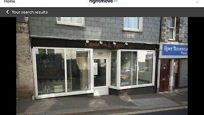 CORNWALL Freehold Shop In Main Highst Camelford Rare !!!
