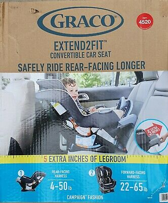 Graco 4520 Extend2Fit Convertible Car Seat