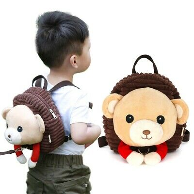 Kids Baby Safety walking bag Harness Backpack Leash Toddler Anti Learning CTtsO