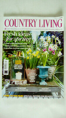 Country Living Magazine April 2018