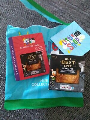 Marks And Spencer M/&S Little Shop Mini Food Collectable Steak Pie