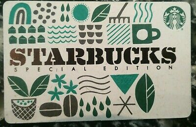 2019 Starbucks Special Edition Gift Card Mint, Series 6164                   (F)